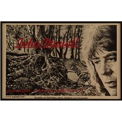 John Mayall Autohraphed Armadillo World HQ Poster