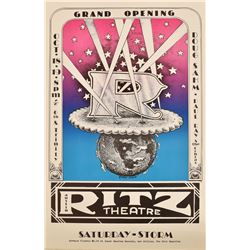 Austin Ritz Theatre Grand Opening Poster Franklin