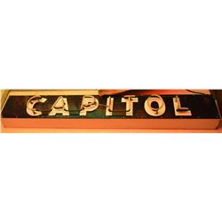 Capitol Neon Sign