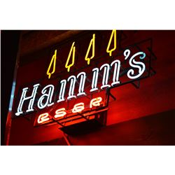 Hamm's Beer Neon Sign