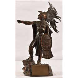 Carta Blanca Beer Advertising Aztec Warrior Statue