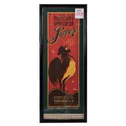 Threadgill's Musician's Appreciation Supper Poster