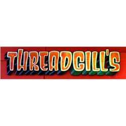 Threadgill's Hand Painted Sign