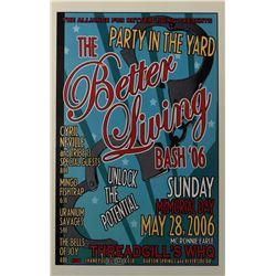 Threadgill's WHQ Better Living Bash '06 Poster