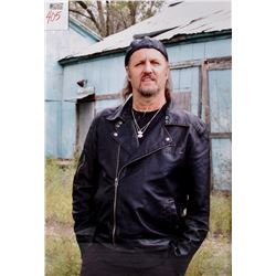 Large Photograph of The Late Jimmy LaFave