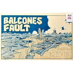 Balcones Fault Armadillo World Headquarters Poster