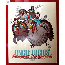Uncle Lucius Autographed Concert Poster