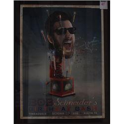 Bob Schneider Bithday Bash Threadgill's Poster