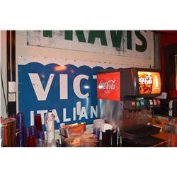 """Victor's Italian Village"" Sign"