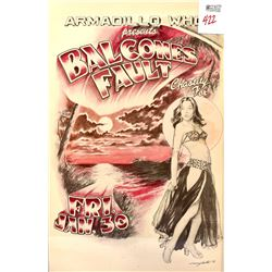 AWHQ Balcones Fault Concert Poster