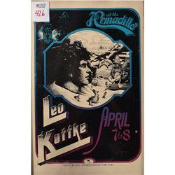Armadillo World Headquarters Leo Kottke Poster