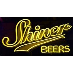 Shiner Beer Neon Sign