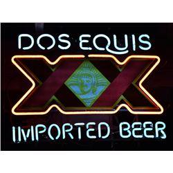Dos XX Beer Neon Sign