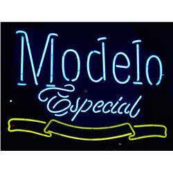 Modelo Beer Neon Sign