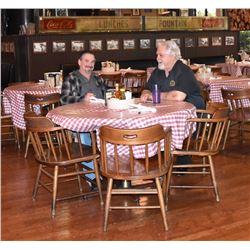 Eddie Wilson's Personal Threadgills Dining Table