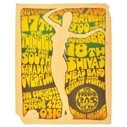 """1967 """"White Girl"""" Gilbert Shelton Poster"""