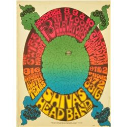 "Vulcan Gas Co. Shiva's Head Band ""The Brain Poster"