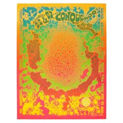 "1967 ""Psycho Bubbles"" Gilbert Shelton Poster"
