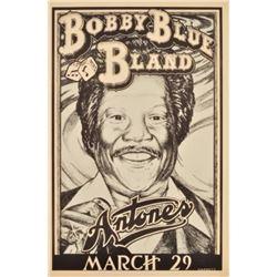 Bobby Blue Bland Antones Concert Poster