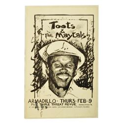 Toots And The Maytals Armadillo World HQ Poster