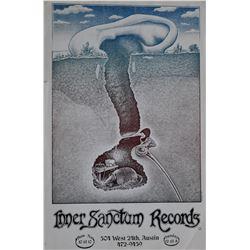 Jim Franklin Inner Sanctum Records Color Poster