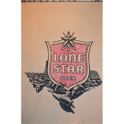 Jim Franklin Original Lone Star Beer Drawing