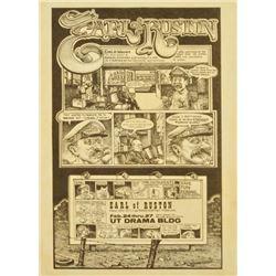 Earl Of Ruston Handbill by Jim Franklin
