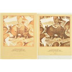 Jim Franklin Texas Poster Art Silk Screen & Poster