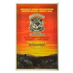 Armadillo World HQ 36th Anniversary Poster