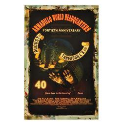 Armadillo World HQ 40th Anniversary Poster