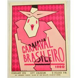 1980 Austin Carnaval Brasileiro Poster