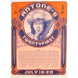 Stevie Ray Vaughan Antone's Poster