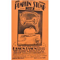 Ramon Ramon Pumpkin Stomp Poster by Jim Franklin