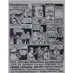 Jim Franklin Summer Soulstice Concert Comic 1971