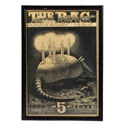 The Rag Jim Franklin 5 Year Anniversary Cover 1971