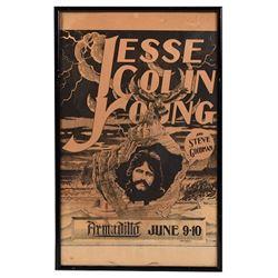 Armadillo World HQ Jesse Colin Young Poster