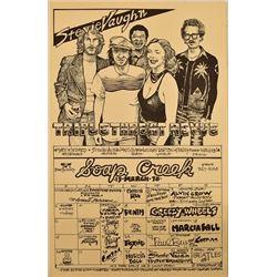 Stevie Ray Vaughn Soap Creek Saloon Poster