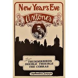 Antones New Years Eve Cobras Double Trouble Poster