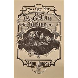 Ike & Tina Turner Austin Opera House Poster
