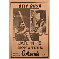 Otis Rush Antone's Poster