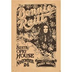 Bonnie Raitt, Austin Opry House Poster