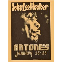 Antone's John Lee Hooker Poster