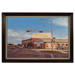 Armadillo World Headquarters Sam Yates Painting