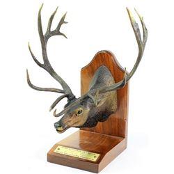 "Bronze ""Boone and Crockett #1 442 3/8"""