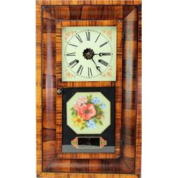 Antique Welch Ogee clock 30 hour