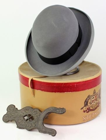 amazing price 2018 shoes sale retailer Collection of 2 includes Stetson felt bowler hat