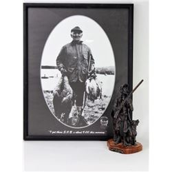 "Collection of 2 includes bronze ""The Duck Hunters"""
