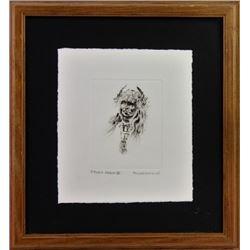Original pin and ink drawing