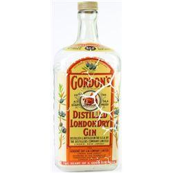 Large Gordon's Gin saloon display bottle