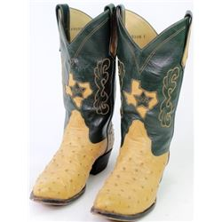 Fine pair custom cowboy boots